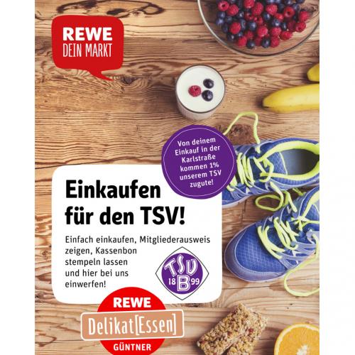 Einkaufen für den TSV Bernhausen Abteilung Fußball