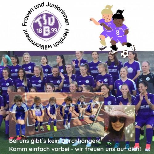 Frauen-und Mädchenfußball!