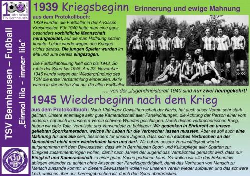 101 Jahre lila Fußballgeschichte – 1939 Kriegsbeginn, 1945 Wiederbeginn (Bild5)