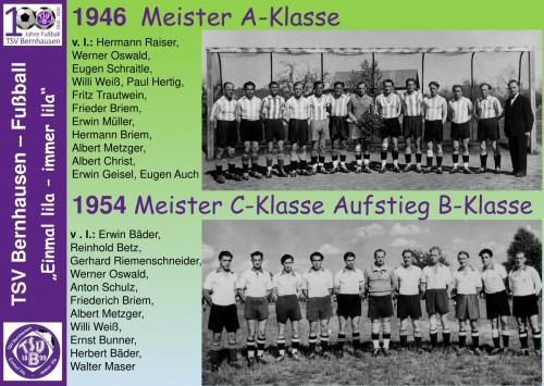 101 Jahre lila Fußballgeschichte – 1954 Meister C-Klasse (Bild 8 - 32)