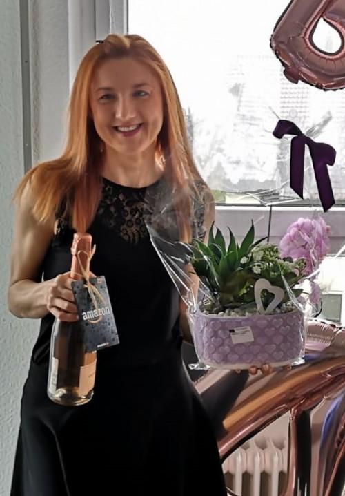 1.5. - Glückwunsch zum runden Geburtstag an Edyta Kasperzec
