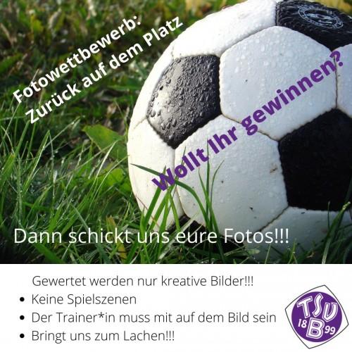 """Foto Wettbewerb """"zurück auf dem Platz"""" -Verlängerung bis 31.7."""