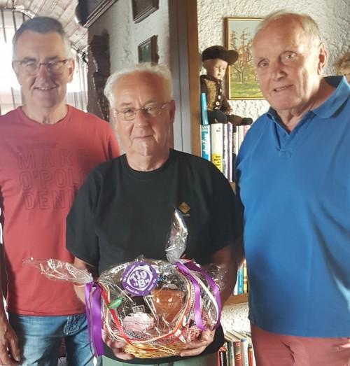 Herzlichen Glückwunsch – Karl-Heinz Frank feiert 70. Geburtstag